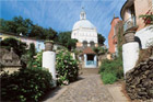 Inspired by Portofino in Italy, Portmeirion is an elaborate folly constructed between 1926 and 1972 by an eccentric Englishman. Photo / Visit Wales