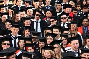 Victoria University students. Photo / NZ Herald