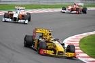 Renault driver Robert Kubica of Poland. Photo / AP