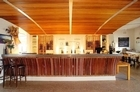 The restaurant at Heron's Flight Vineyard, Matakana. Photo / Supplied