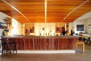 The restaurant at Heron's Flight Vineyard, Matakana. Photo / Supplied