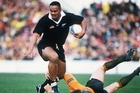 Jonah Lomu was a team star for the Blues. Photo / Getty Images