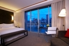 One the rooms in the Westin hotel. Photo / Supplied