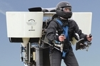 The Martin Jetpack's creator says he would be angry if his invention were used to carry weapons. Photo / Supplied