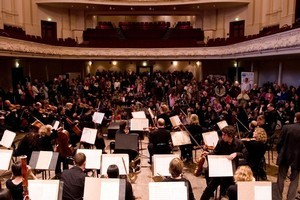 The Auckland Philharmonia Orchestra. Photo / Dean Purcell