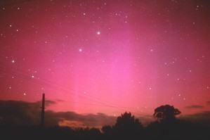 Spotting lights in the sky at night is sometimes easier said than done. Photo / Hawkes Bay Today