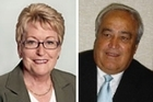 Candidates Dianne Glenn and Des Morrison. Photos / Supplied