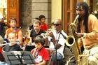 The love of jazz unites all ethnicities at the Caudian Waterfront in Port Louis. Mauritius. Photo / Pamela Wade