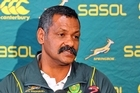 Peter de Villiers could be sacked this weekend. Photo / Getty Images