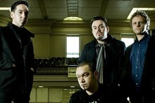 New Zealand rock royalty - Shihad. Photo / Supplied