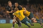 The cash flows when the All Blacks and Wallabies meet. Photo / Getty Images