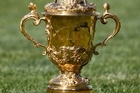 The Webb Ellis Cup. Photo / NZ Herald