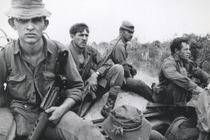 NZ Infantry men in the Vietnam War 1969. Photo / Supplied