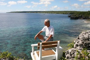 Jeff Jeffarian, an American who visited Niue in 2007 and never left, says that after your first visit to the island you'll be back. Photo / Geoff Thomas