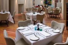 Kitchen is CBD boutique Hotel DeBrett's onsite eatery, while the recently refurbished rooms lived up to the hype. Photo / Tourism Auckland 