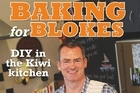 Baking for Blokes by Steve Joll. Photo / Supplied