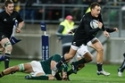 Israel Dagg's speed and agility make him an attractive prospect for the All Blacks' wing. Photo / Mark Mitchell
