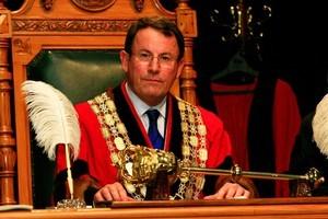 Auckland City mayor John Banks. Photo / Martin Sykes