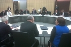 Cabinet has begun meeting to discuss the Christchurch earthquake. Photo / Derek Cheng