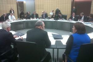 Cabinet has begun meeting to discuss the Christchurch earthquake. Photo / Derek Cheng