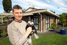 Gavin Irving outside his Avondale home. Photo / Janna Dixon