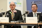 Health Minister Tony Ryall, and the former Director-General of health Stephen McKernan. File photo / Mark Mitchell