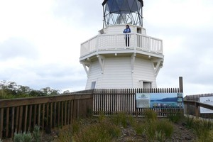 Awhitu Lighthouse, Awhitu Peninsula, northwest of Waiuku. Photo / Supplied
