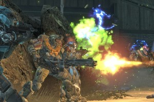 In  Halo: Reach , Noble Team sets the scene for the later adventures of the Master Chief. Photo / Supplied