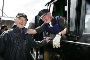 John Leech and Bill Baker. Photo / Herald on Sunday