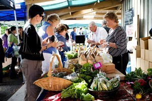 The Clevedon Village Farmers's Market offers local produce and delicacies. Photo / Babiche Martens