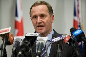 Prime Minister John Key said that the Christchurch earthquake - with a repair bill expected to be more than $4 billion - was New Zealand's most costly natural disaster. Photo / Mark Mitchell