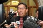 Maori Party MP Hone Harawira. Photo / Mark Mitchell