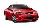 Holden Commodore VE series II SSV Ute is among the Redline series to be released in New Zealand later this month. Photo / Supplied