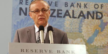 Reserve Bank Governor Alan Bollard speaking at this morning's Monetary Policy St