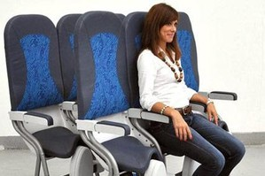 The Skyrider offers just 23 inches of legroom and will let budget airlines increase the number of seats in economy class.