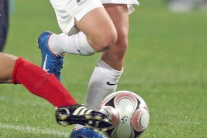 New Zealand lost all three games at the women's under-17 soccer World Cup. Photo / Getty Images