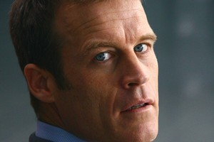 Mark Valley plays the mysterious Christopher Chance in Human Target. Photo / Supplied