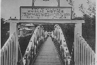 Grafton Bridge was opened 100 years ago. Photo / NZ Herald Archives