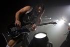 Rob Trujillo (left) and Kirk Hammett of Metallica. Photo / Roger Grauwmeijer