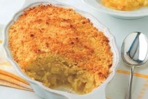 Apple and lemon crumble, from the book It's My Turn to Cook. Photo / Supplied