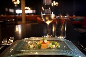 The foie gras starter at Clooney Restaurant. Photo / Natalie Slade