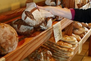 Wild Wheat Specialty Bread shop. Photo / Greg Bowker