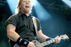 James Hetfield of Metallica at Big Day Out 2004. Photo / Martin Sykes