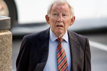 Sir Ron Brierley's fate has not been announced. Photo / Greg Bowker