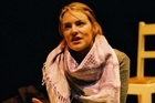 Kate Prior in 'My Name is Rachel Corrie'. Photo / Supplied