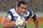 Charlie Faumuina in action for Auckland. Photo / Getty Images