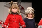 Models showcase designs in the Trelise Cooper Kids show. Photo / Getty Images