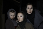 Models backstage at Cybele. Photo / Supplied