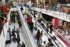 Mall floorspace at Westfield St Lukes would more than double to 9.2ha under the current plan. Photo / Steven McNicholl