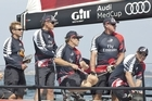 Team New Zealand in action during the Med Cup. Chris Cameron/ETNZ